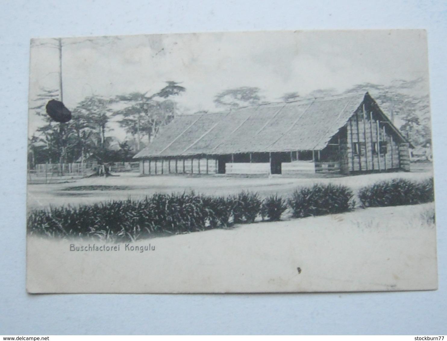 KAMERUN , Ansichtskarte Mit Stempel JAUNDE 1907 - Kolonie: Kamerun