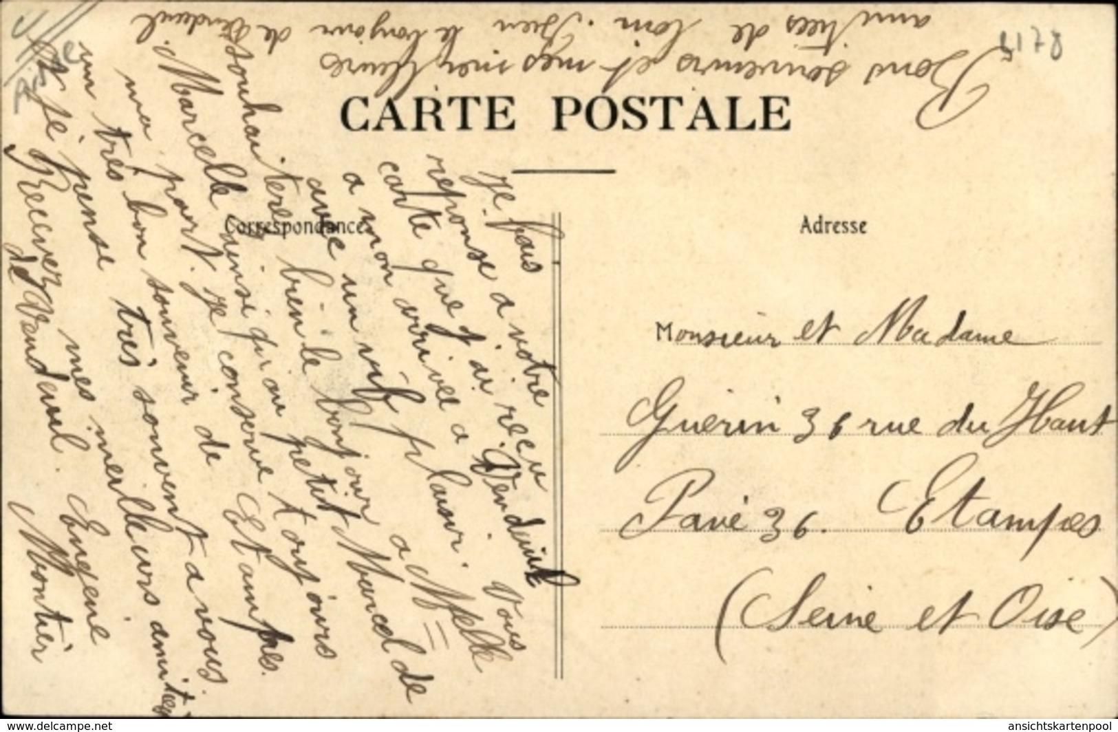 Cp Vendeuil Aisne, Les Bords De L'Oise, Ruderboot, Flusspartie - France