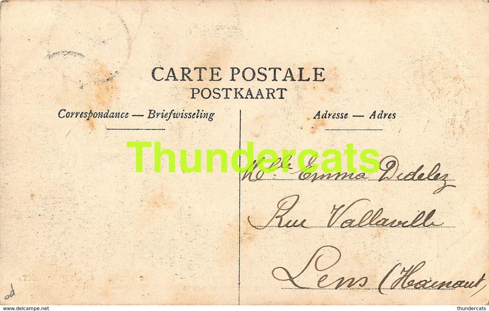 CPA KONTICH CONTICH 21 MAI 1908 SCHRIKKELIJK SPOORWEG ONGELUK TERRIBLE ACCIDENT DE CHEMIN DE FER TRAIN - Kontich