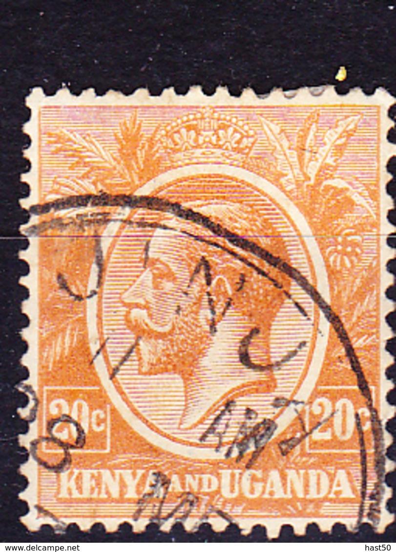 Kenya & Uganda - König Georg V. (Mi.Nr.: 6) 1922 - Gest. Used Obl. - Kenya & Ouganda