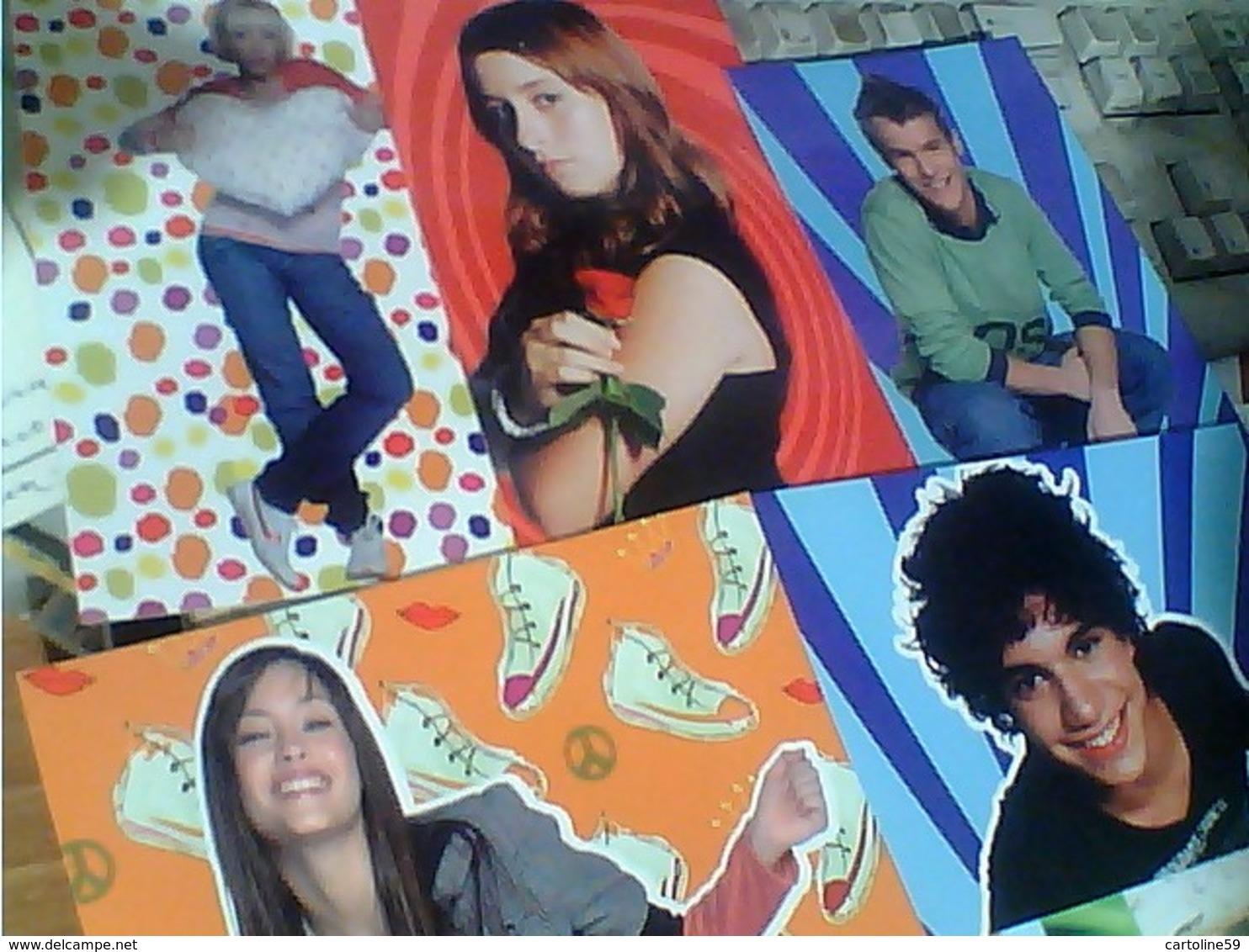 13 FIGURINE CARD FIGURINA TRADING  IL MONDO DI PATTY (POPULARES VS DIVINAS) - PANINI  N2009 HA7409 - Artisti