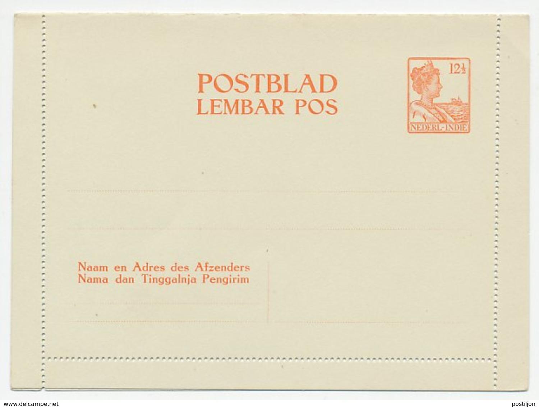 Postblad G. 1 - Nederlands-Indië