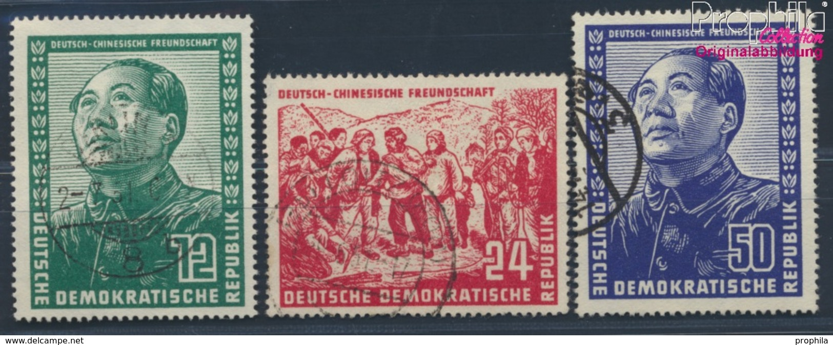 DDR 286-288 (kompl.Ausg.) Gestempelt 1951 Deutsch-chinesische Freundschaft (8830798 - DDR