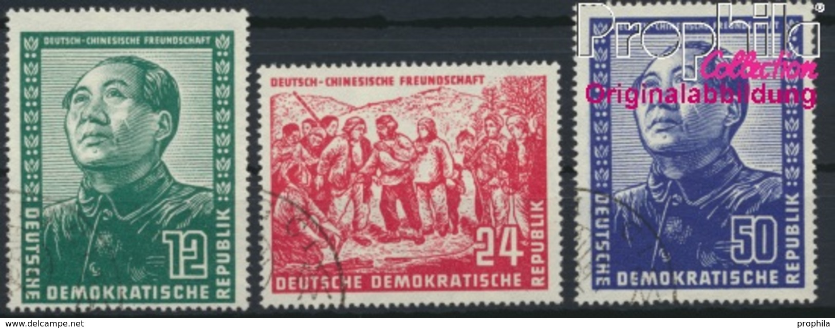 DDR 286-288 (kompl.Ausg.) Gestempelt 1951 Deutsch-chinesische Freundschaft (8844044 - DDR