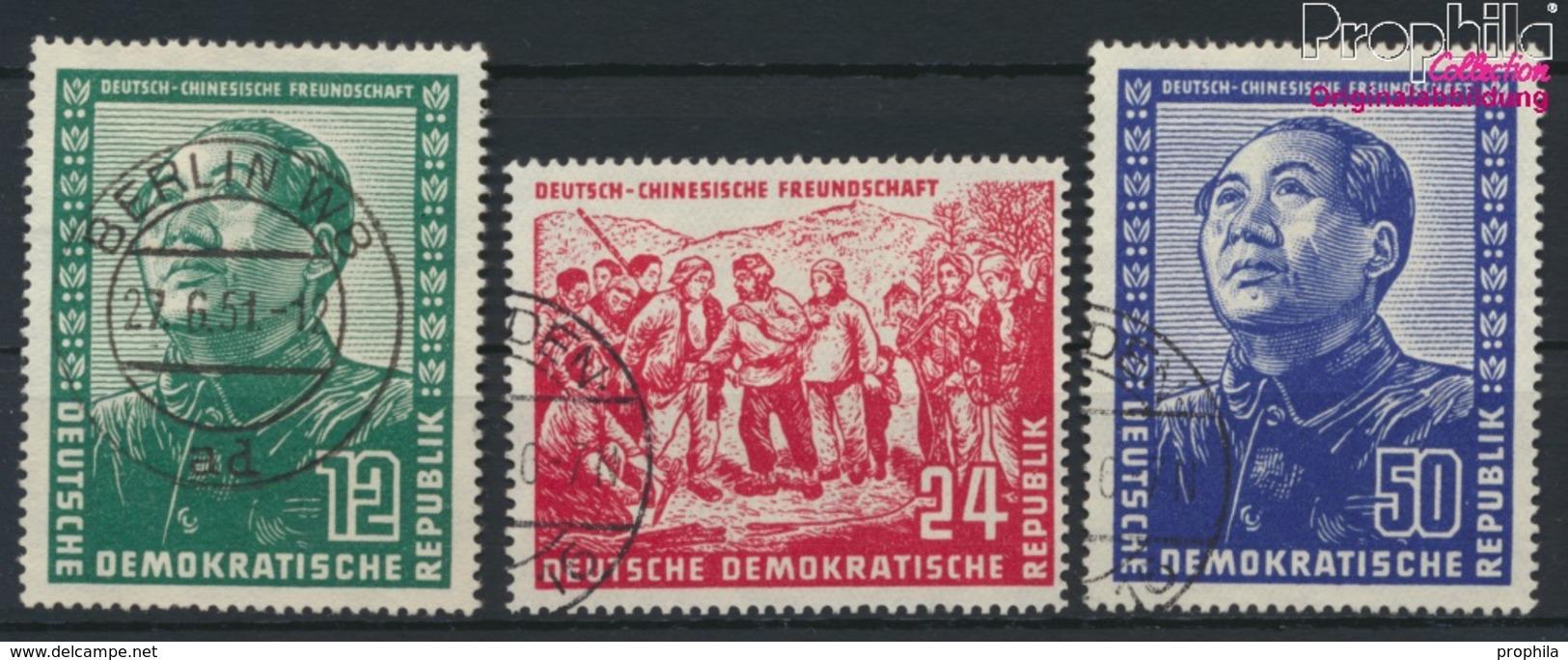 DDR 286-288 (kompl.Ausg.) Gestempelt 1951 Deutsch-chinesische Freundschaft (9223672 - DDR