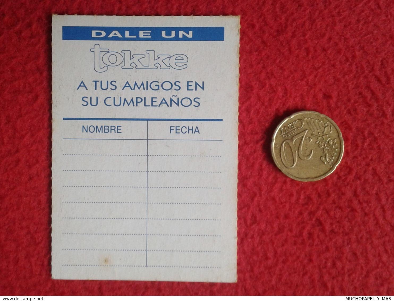 SPAIN ANTIGUO CROMO OLD COLLECTIBLE CARD TOKKE SERIE TV TELEVISIÓN SENSACIÓN DE VIVIR 90210 BEVERLY HILLS AARON SPELLING - Cromos
