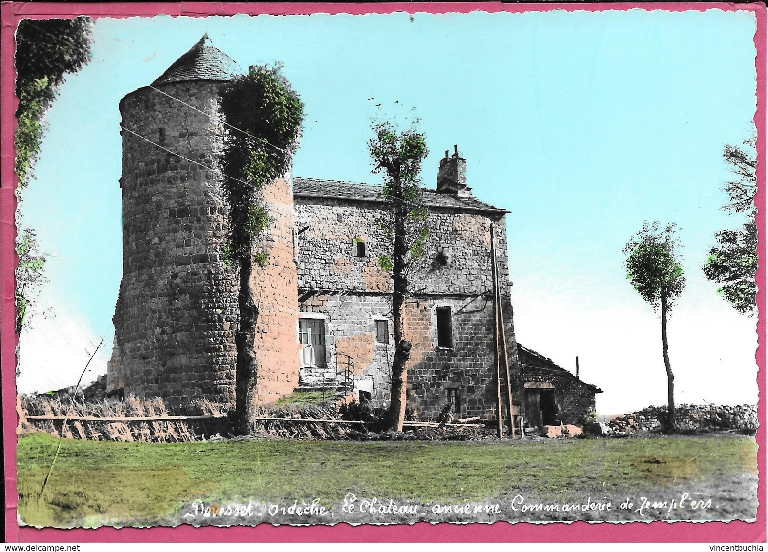 Devesset Le Chateau Ancienne Commanderie De Templiers - France