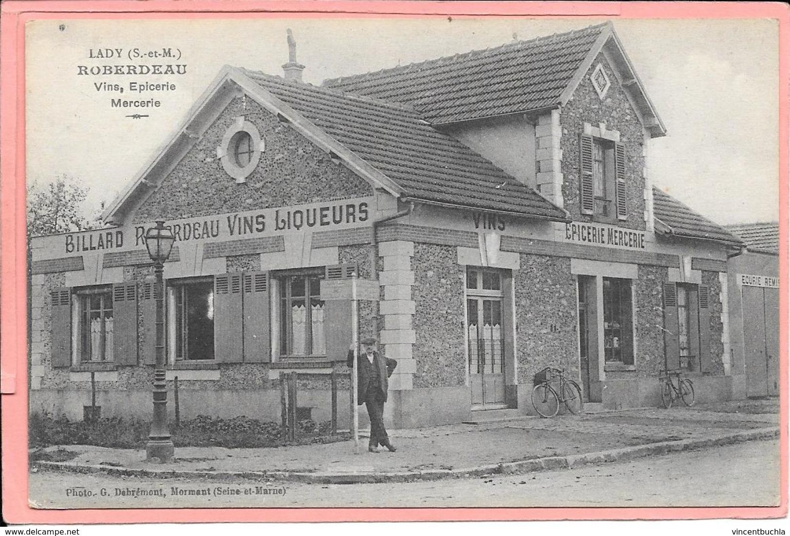 Lady - Roberdeau - Vins Epicerie Mercerie - Autres Communes