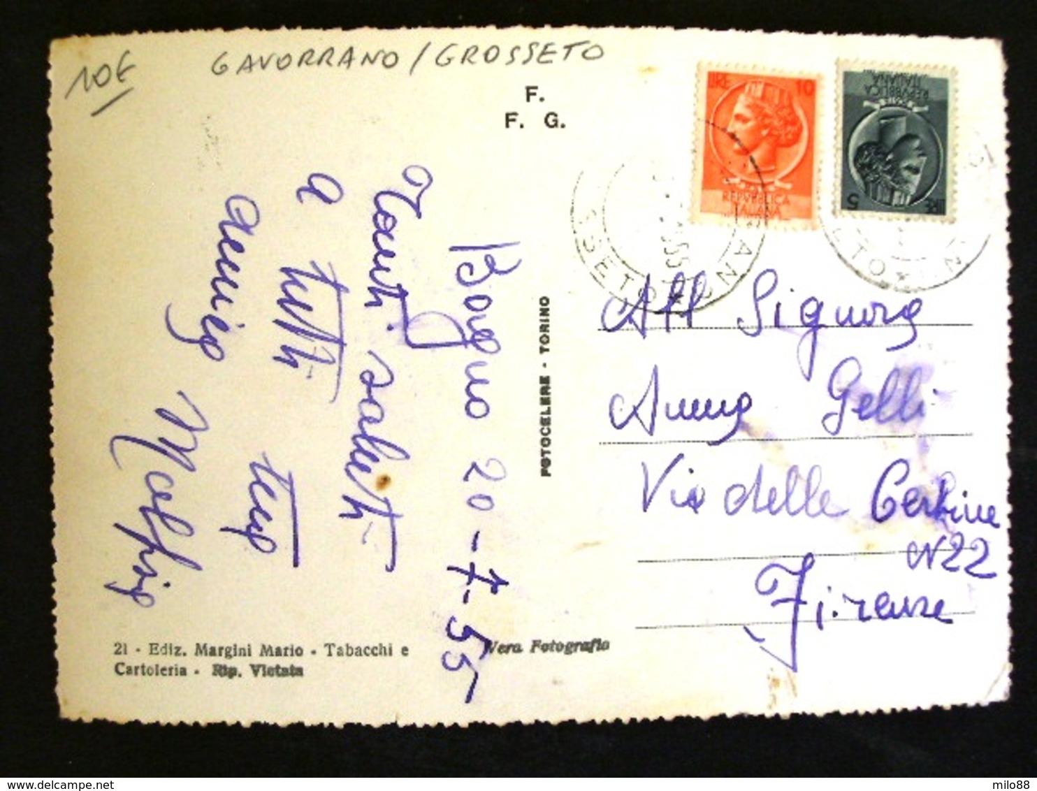 TOSCANA -GROSSETO -GAVORRANO -F.G. LOTTO N°22 - Grosseto