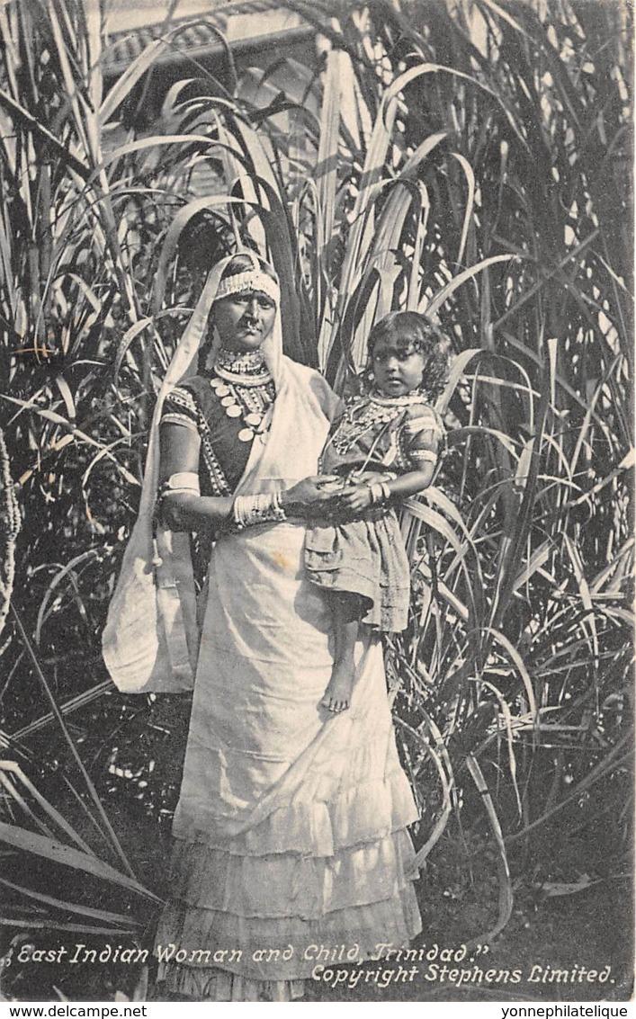 Trinidad - Ethnic / 05 - East Indian Woman And Child - Trinidad