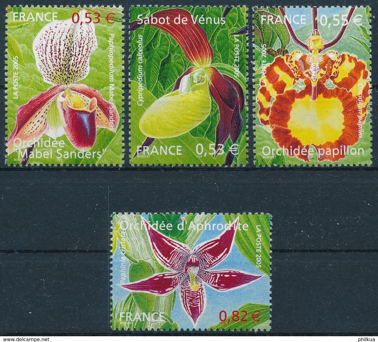 3914-3917 Postfrisch/** - Unused Stamps