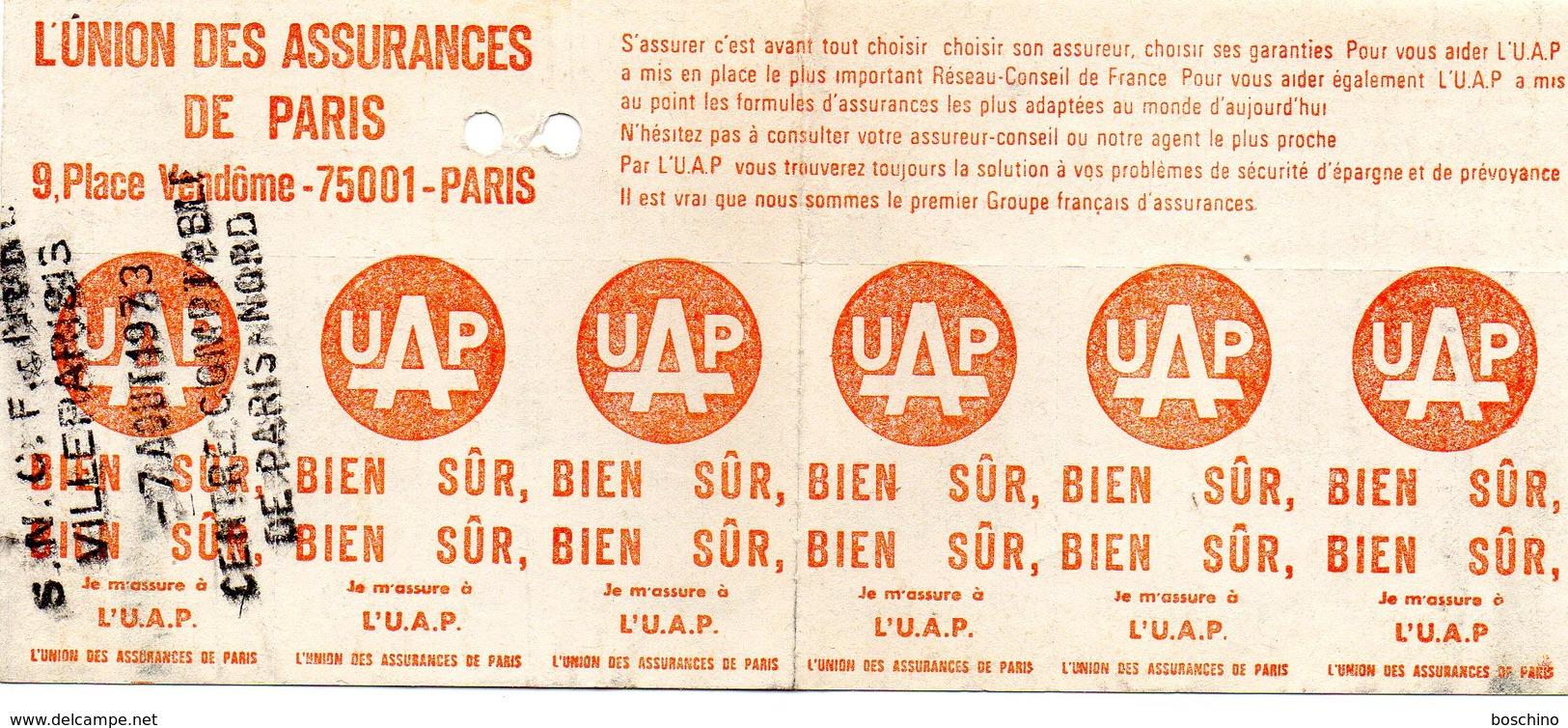 / Coupon Hebdomadaire , Trajet Villeparisis / Aulnay Sous Bois - Abonnements Hebdomadaires & Mensuels