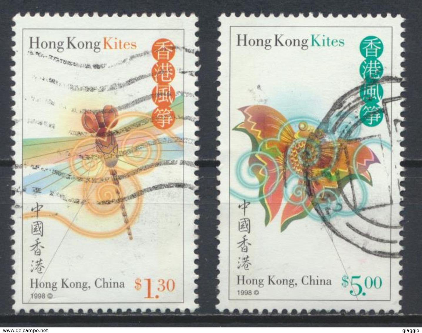 °°° HONG KONG - Y&T N°874/77 - 1998 °°° - 1997-... Regione Amministrativa Speciale Della Cina