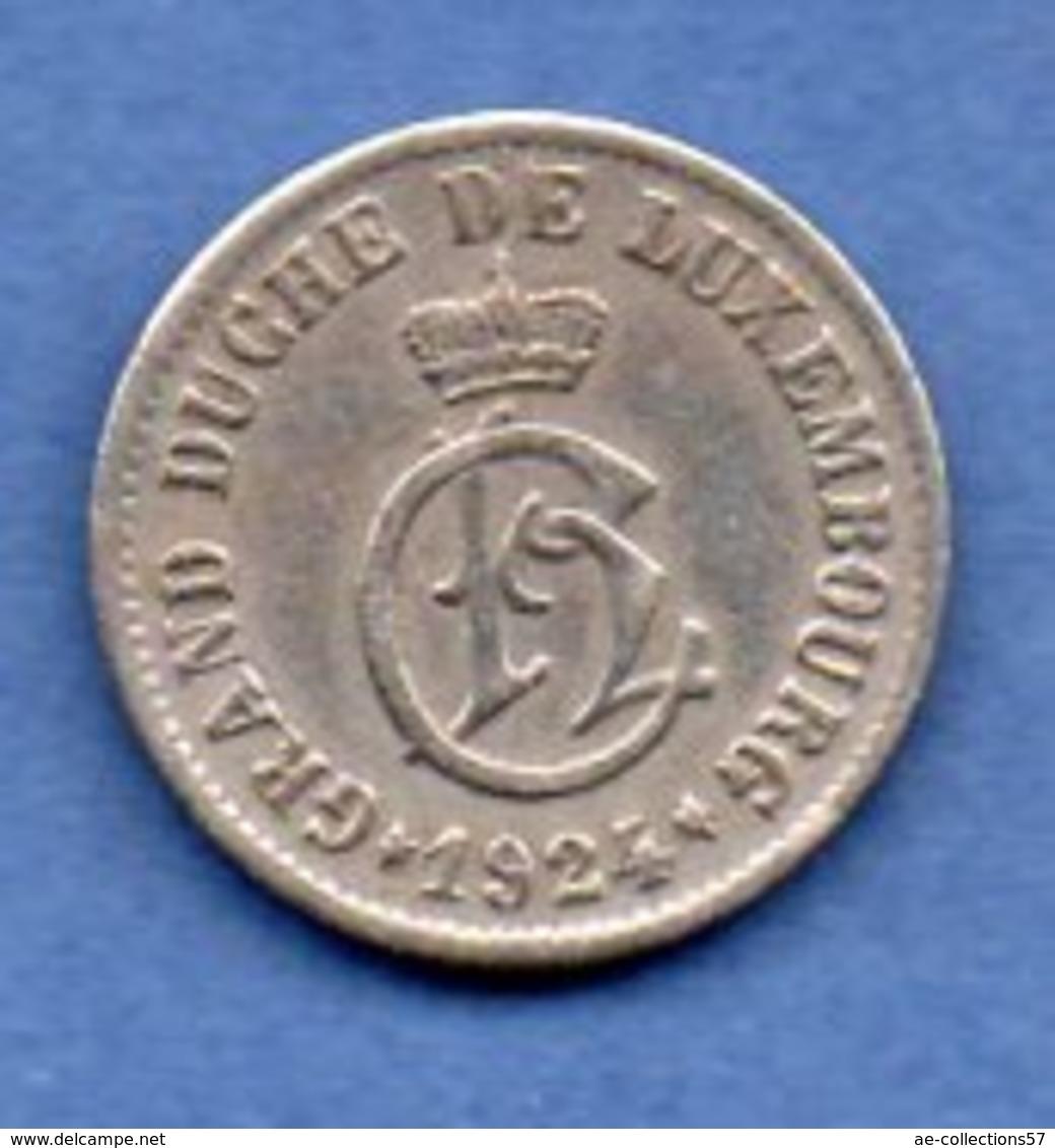 Luxembourg  -  5 Centimes 1924    -  Km # 33  --  état  TTB - Luxembourg