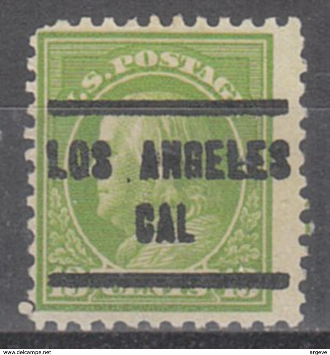 USA Precancel Vorausentwertung Preo, Locals California, Los Angeles 205, Perf. 11x11, Better Stamp - Vereinigte Staaten