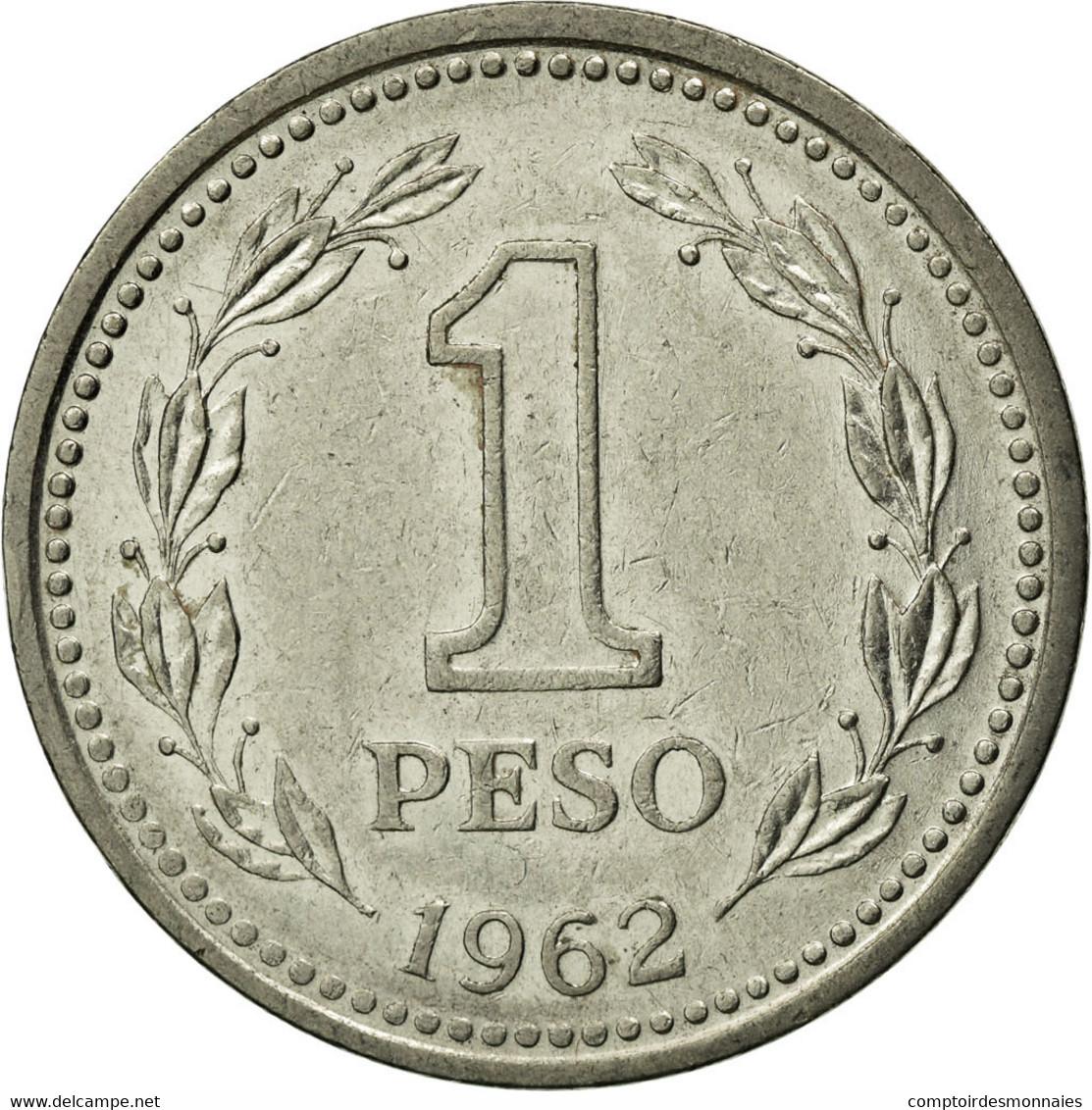 Monnaie, Argentine, Peso, 1962, TTB, Nickel Clad Steel, KM:57 - Argentine