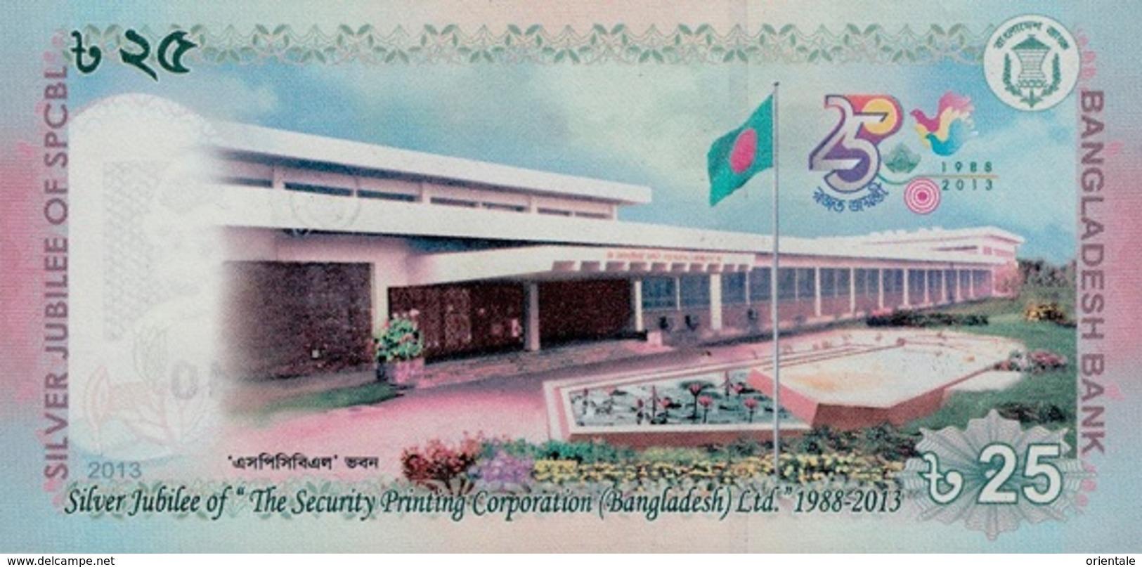 BANGLADESH P. 62 25 T 2013 UNC - Bangladesh