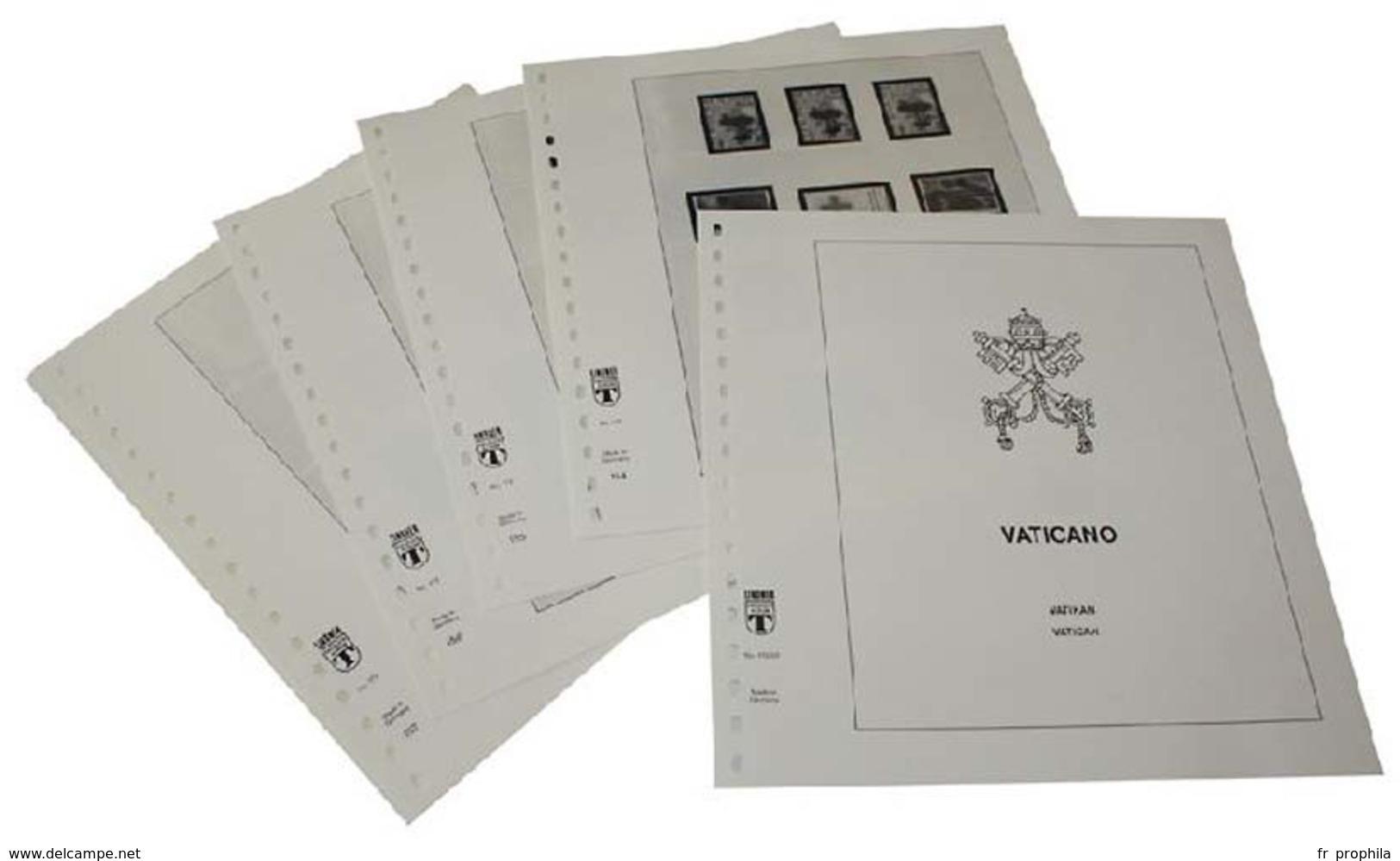 Lindner-T Compléments Vatican Année 2018 - Vordruckblätter