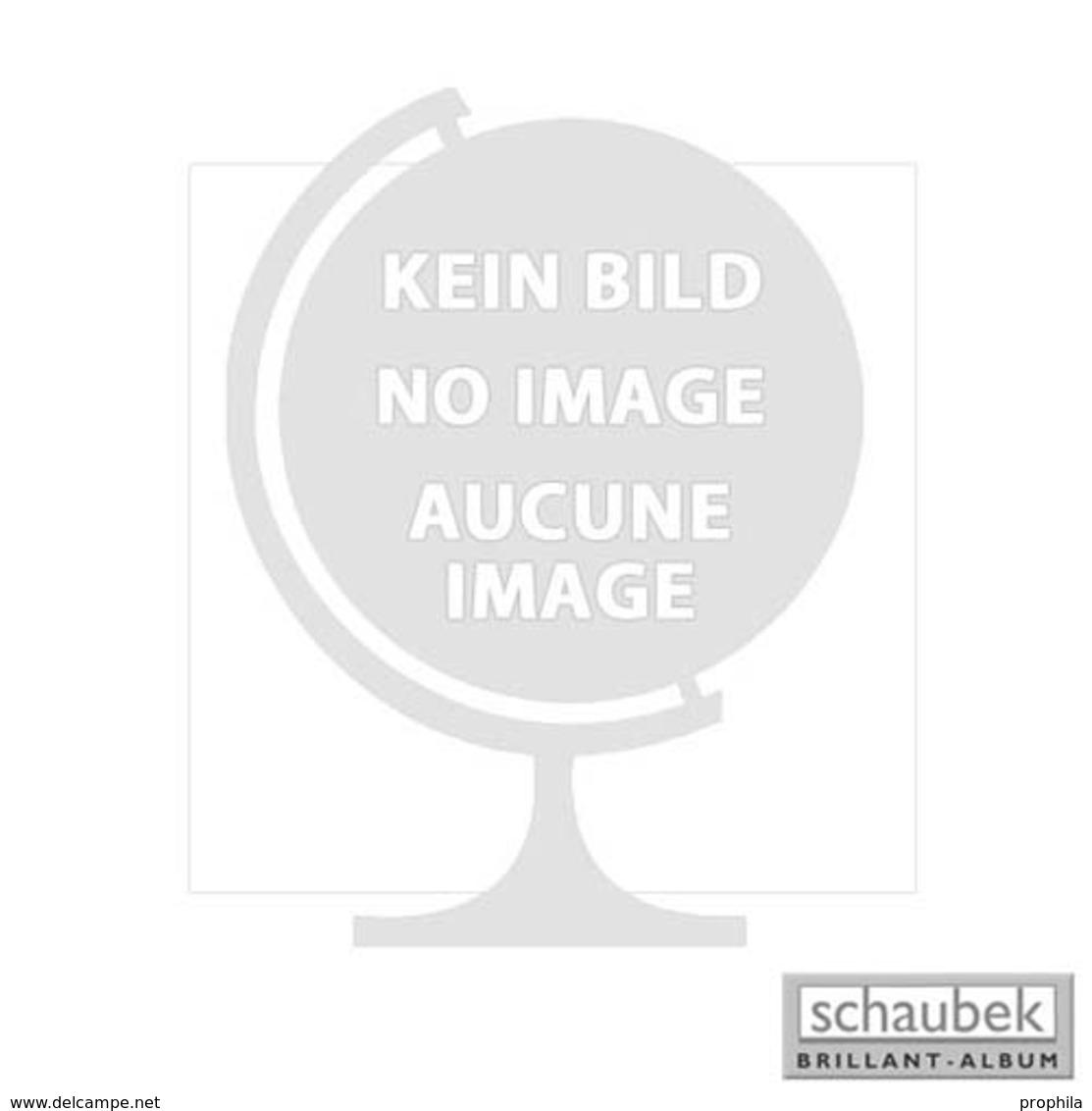 Schaubek DKP322 Klemmbinder Deutsches Reich Mit Wappen Blau Mit Prägung Deutsches Reich Und Wappen (Adler) Ohne Schutzk - Groß, Grund Schwarz