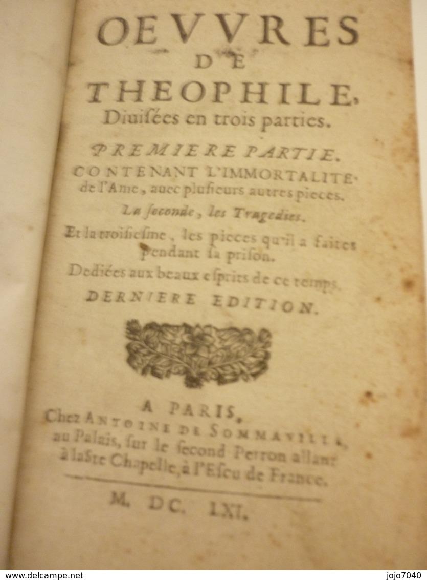 Théophile 1661 - Jusque 1700