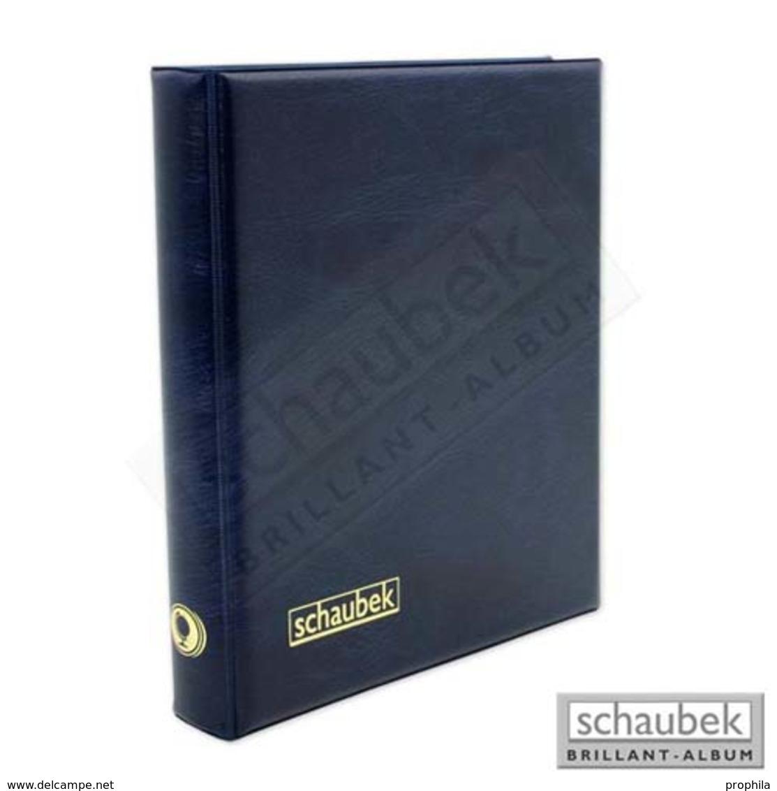 Schaubek Rb2073 Ringbinder Genius, Blau - Klemmbinder