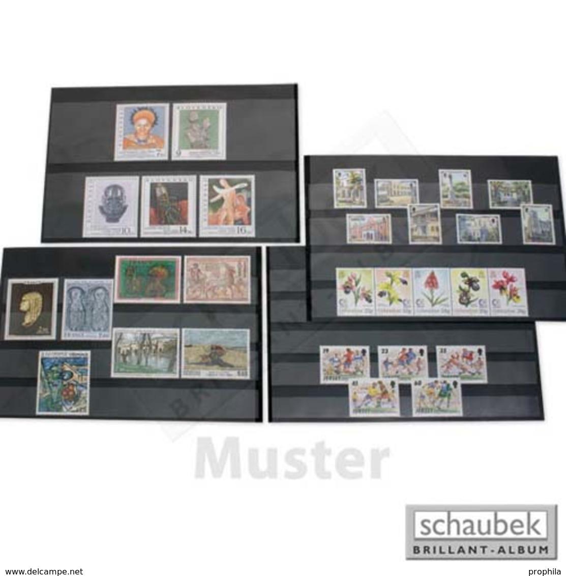 Schaubek V603/S Versand-Einsteckkarten Mit Schutzblatt, 3 Streifen 156 Mm X 112 Mm, Packung Mit 100 Stück - Etichette