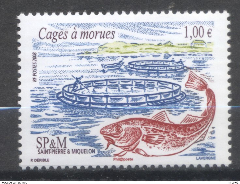 Saint-Pierre Et Miquelon, Yvert 913, MNH - Ungebraucht