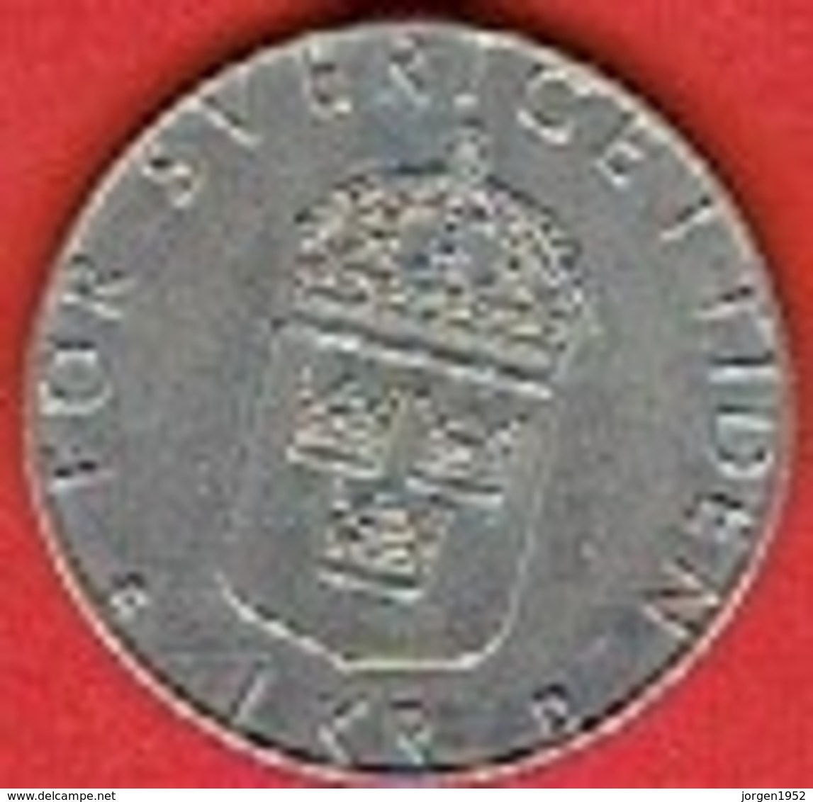 SWEDEN #  1 KR  FROM 1987 - Suède