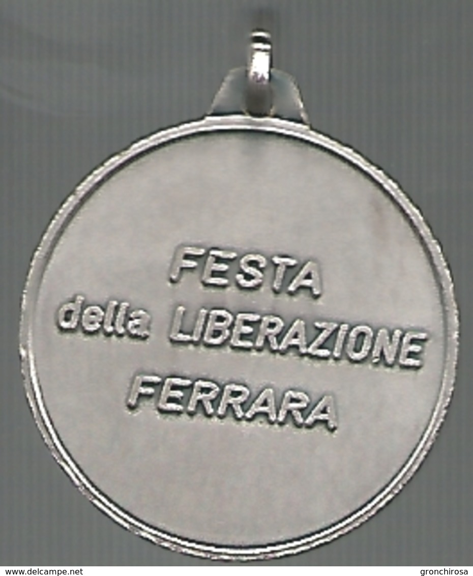 Ferrara, 1986, Festa Della Liberazione, Incisore Fioravanti, Mistura, Cm. 3. - Altri