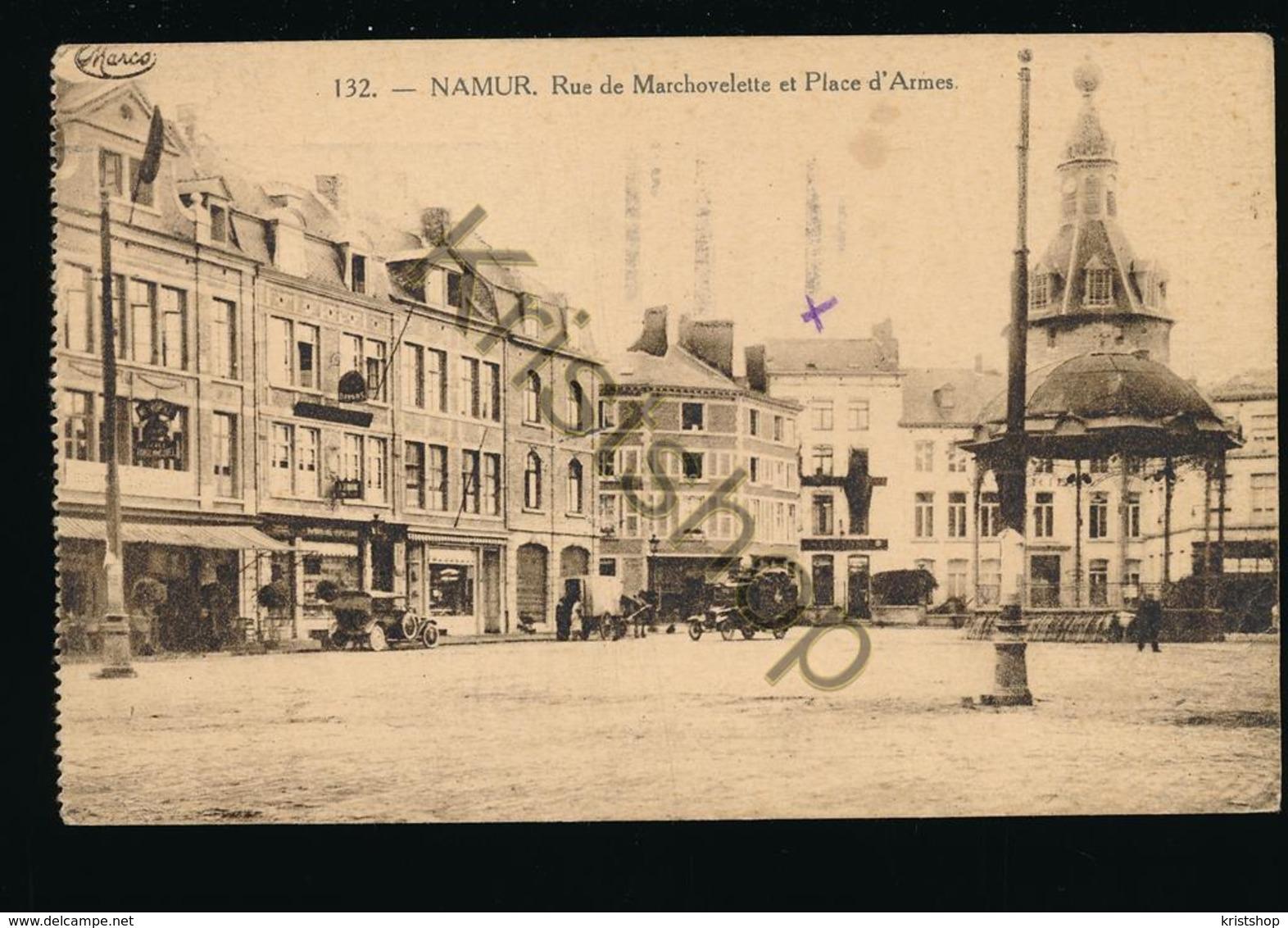 Namur - Rue De Marchovelette Et Place D'Armes [AA32-2.259 - Unclassified