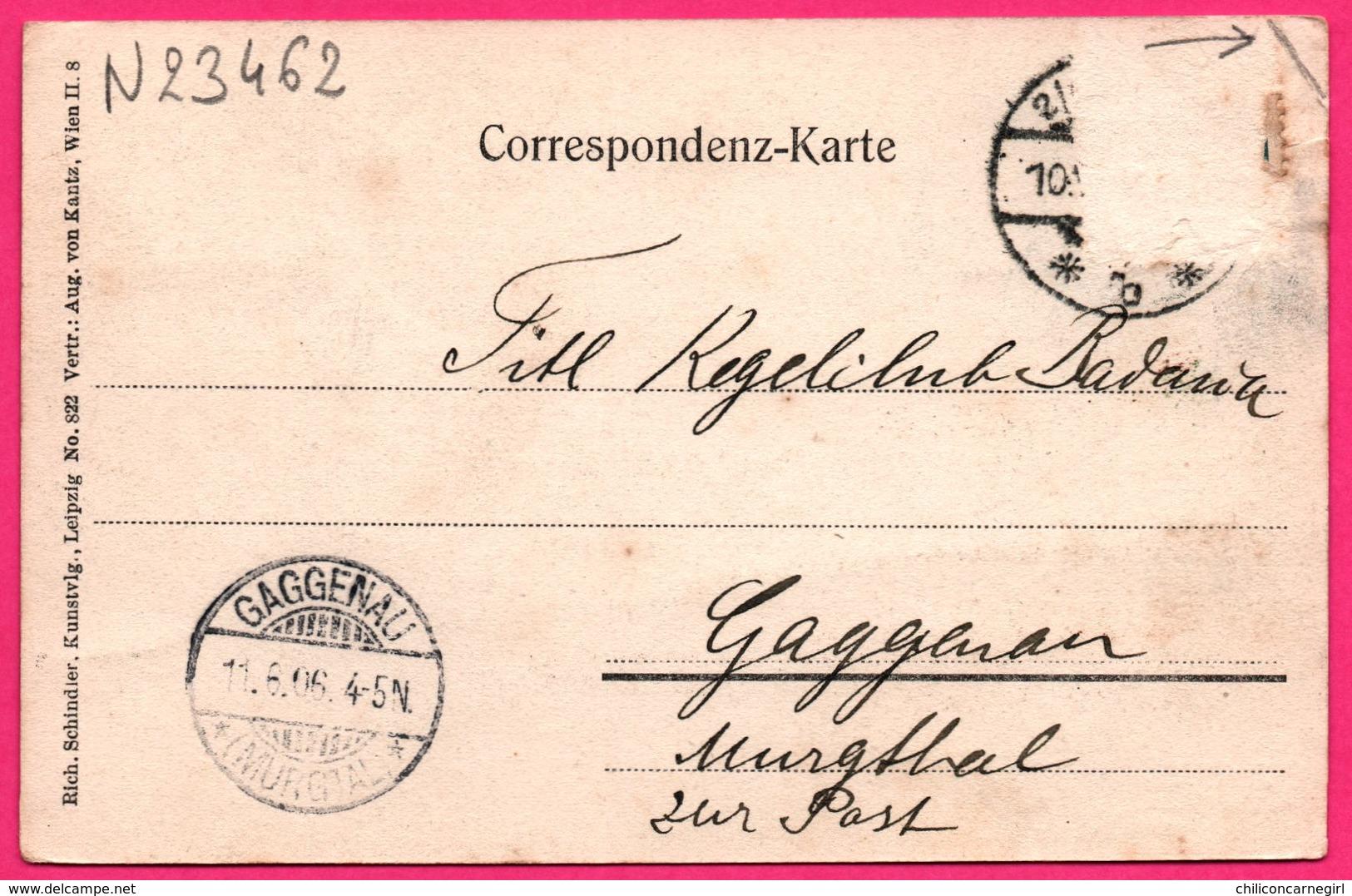 Schönbrunn - Schloss - Animée - RICH. SCHINDLER - 1906 - Vers GAGGENAU - Château De Schönbrunn