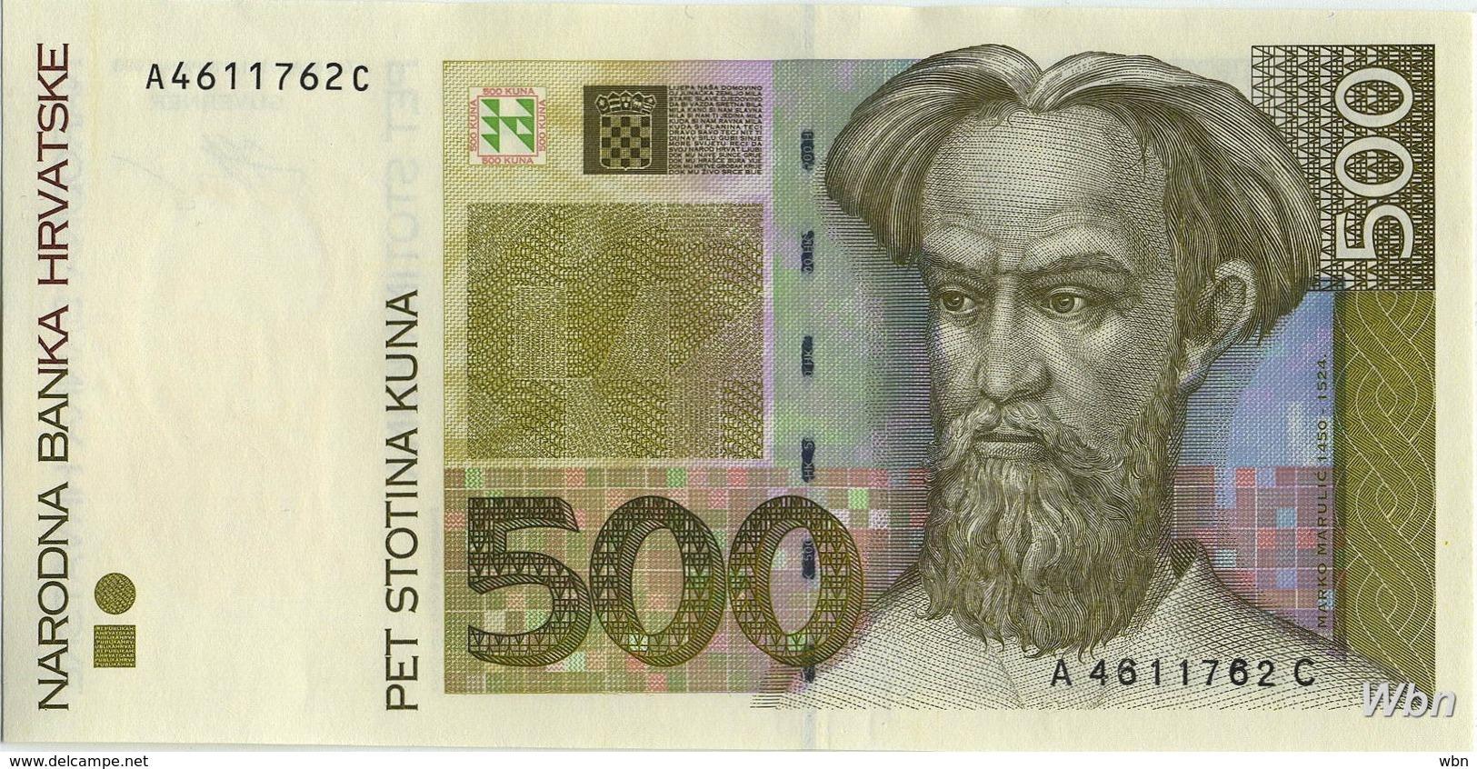 Croatie 500 Kuna (P34) 1993 -UNC- - Croatia