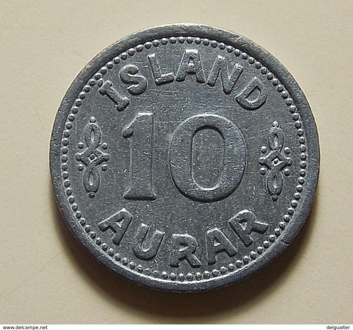 Iceland 10 Aurar 1942 - Island
