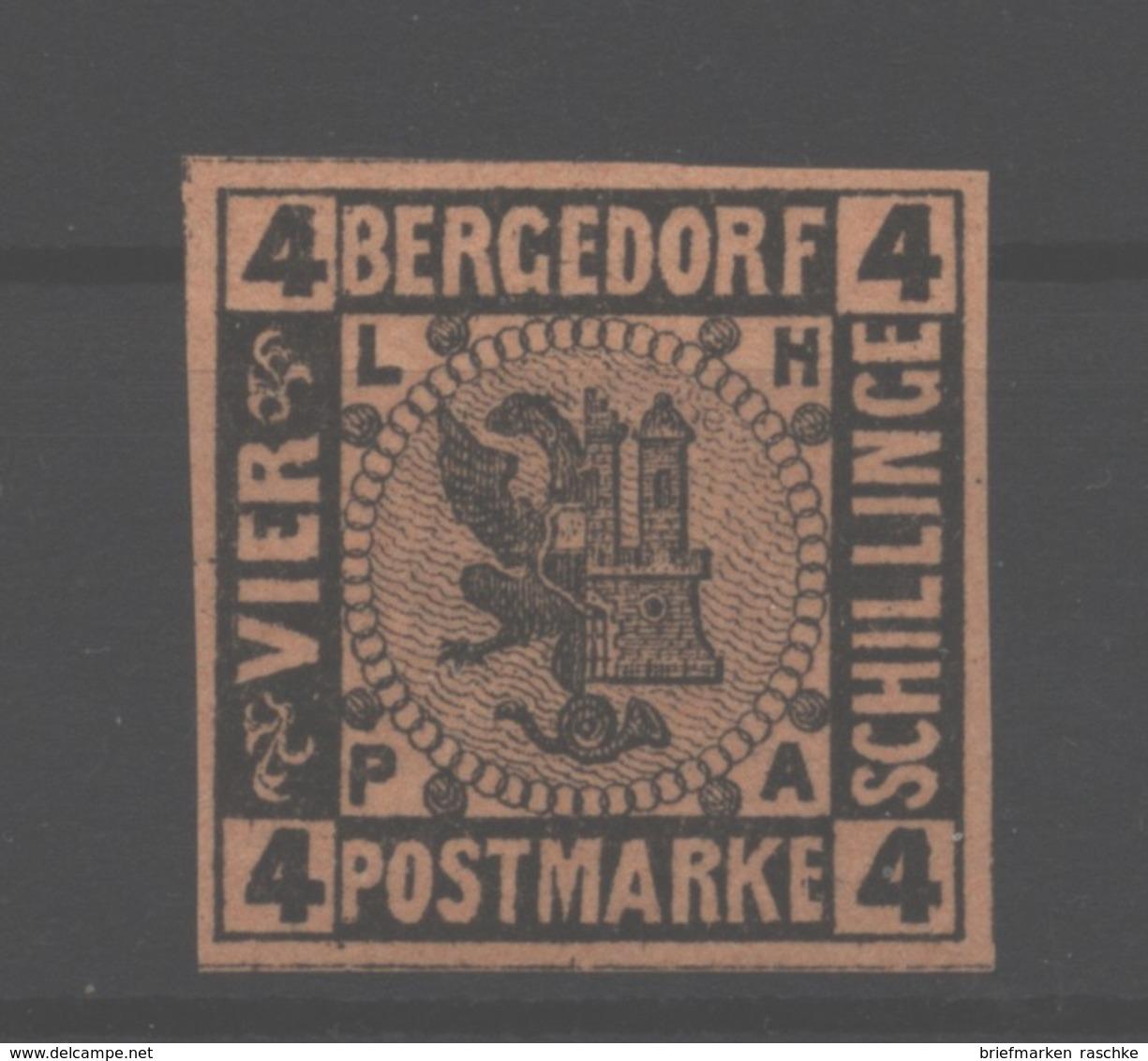Bergedorf,5,xx,gep. - Bergedorf