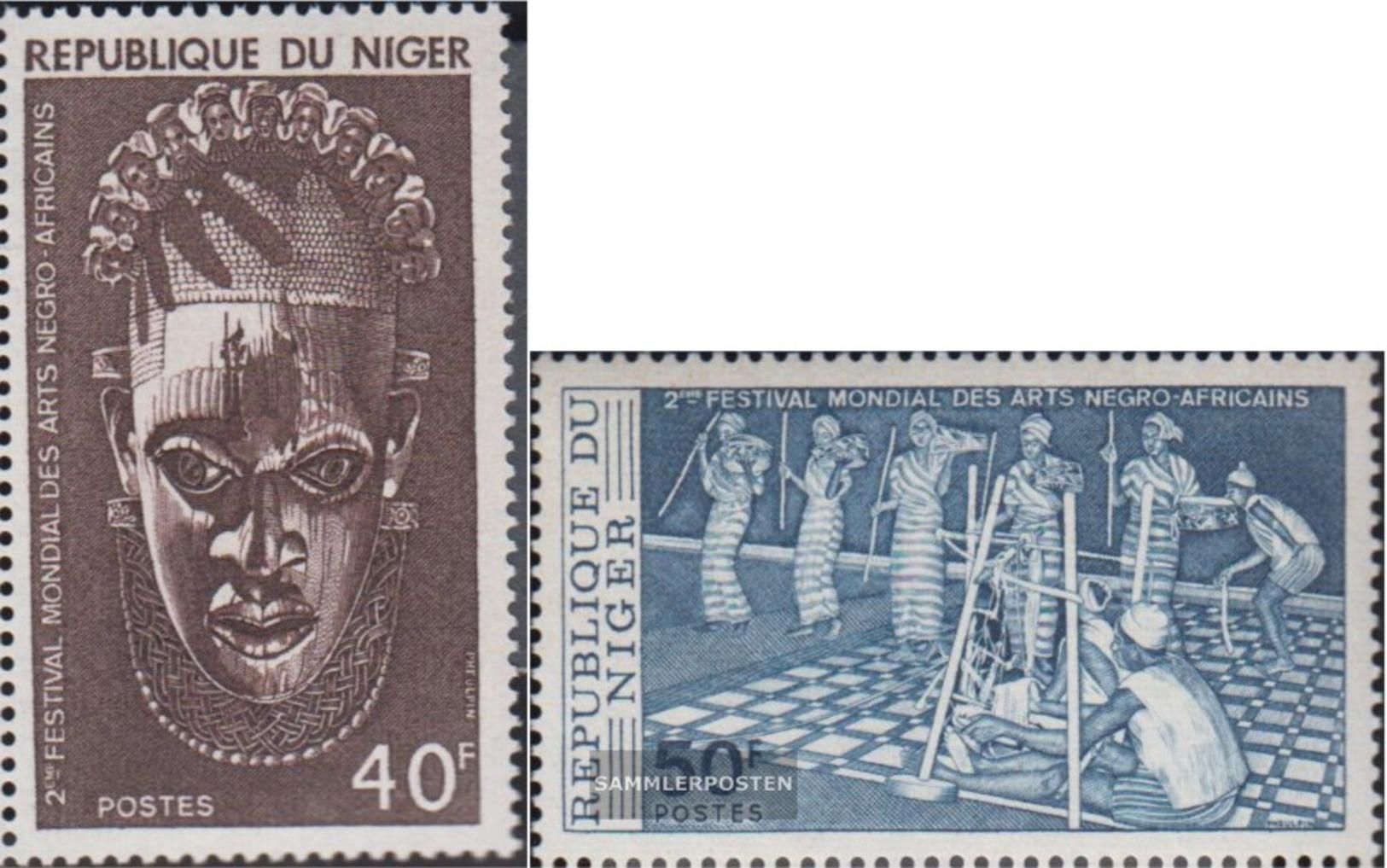 Niger 558-559 (completa Edizione) MNH 1977 Festival - Níger (1960-...)