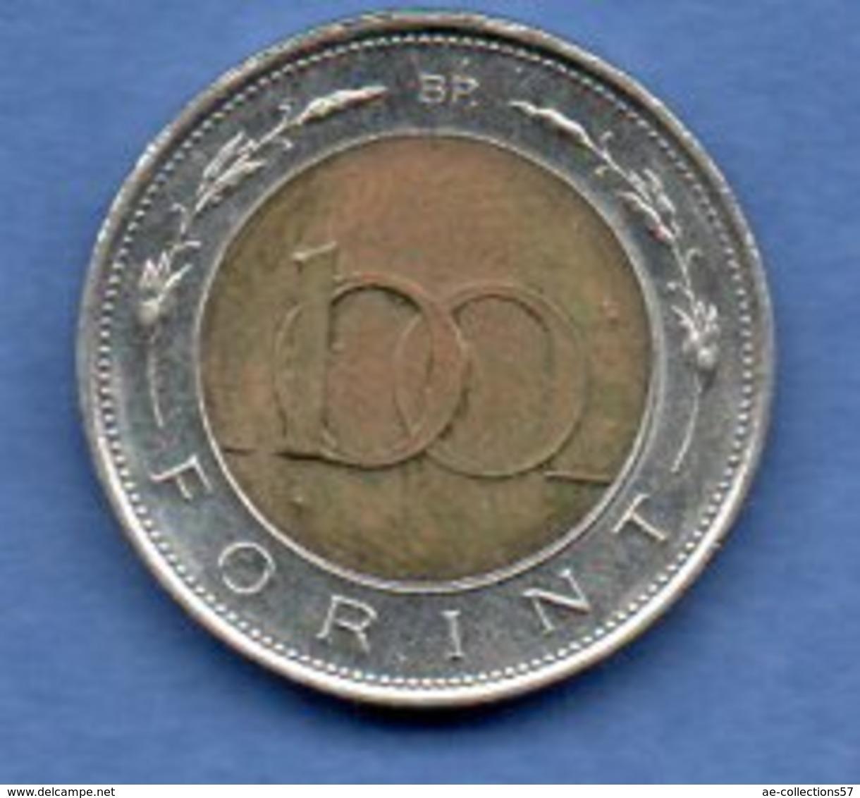 Hongrie  -  100 Forint 1997  - Km # 721  -  état  TTB+ - Hongrie