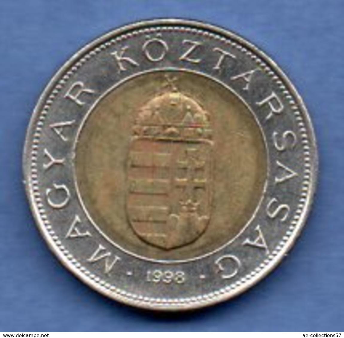 Hongrie  -  100 Forint 1998  - Km # 721  -  état  TTB+ - Hongrie