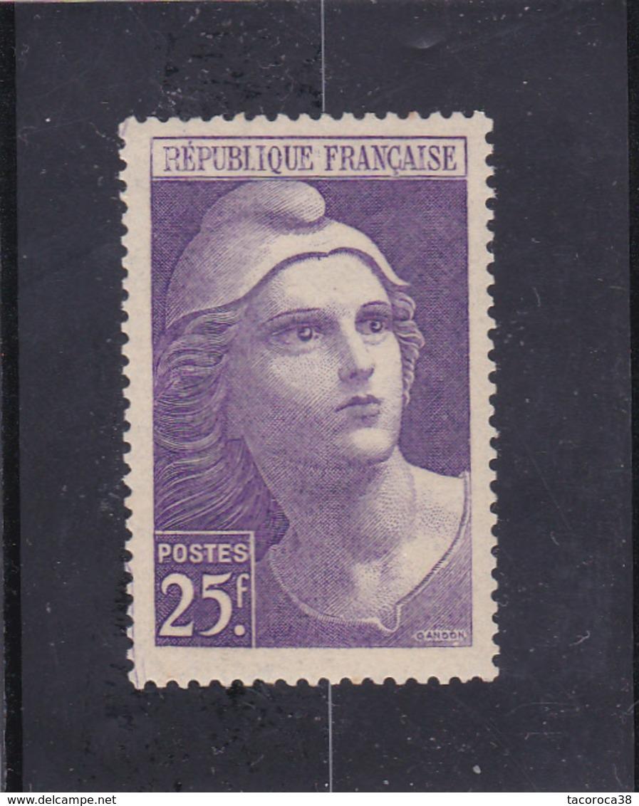 MARIANE DE GANDON N° 731 - 25frs Violet - à Voir - Ungebraucht