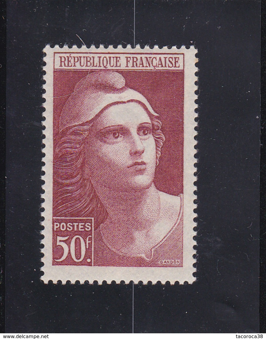 MARIANE DE GANDON N° 732 - 50frs Brun Rouge- à Voir - Ungebraucht