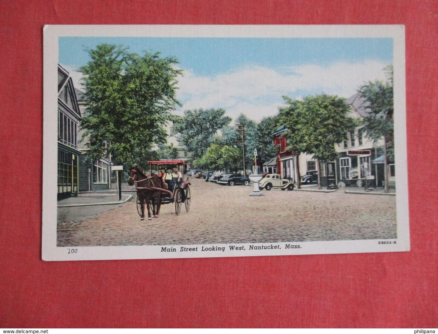 Main Street Massachusetts > Nantucket       Ref 3141 - Nantucket