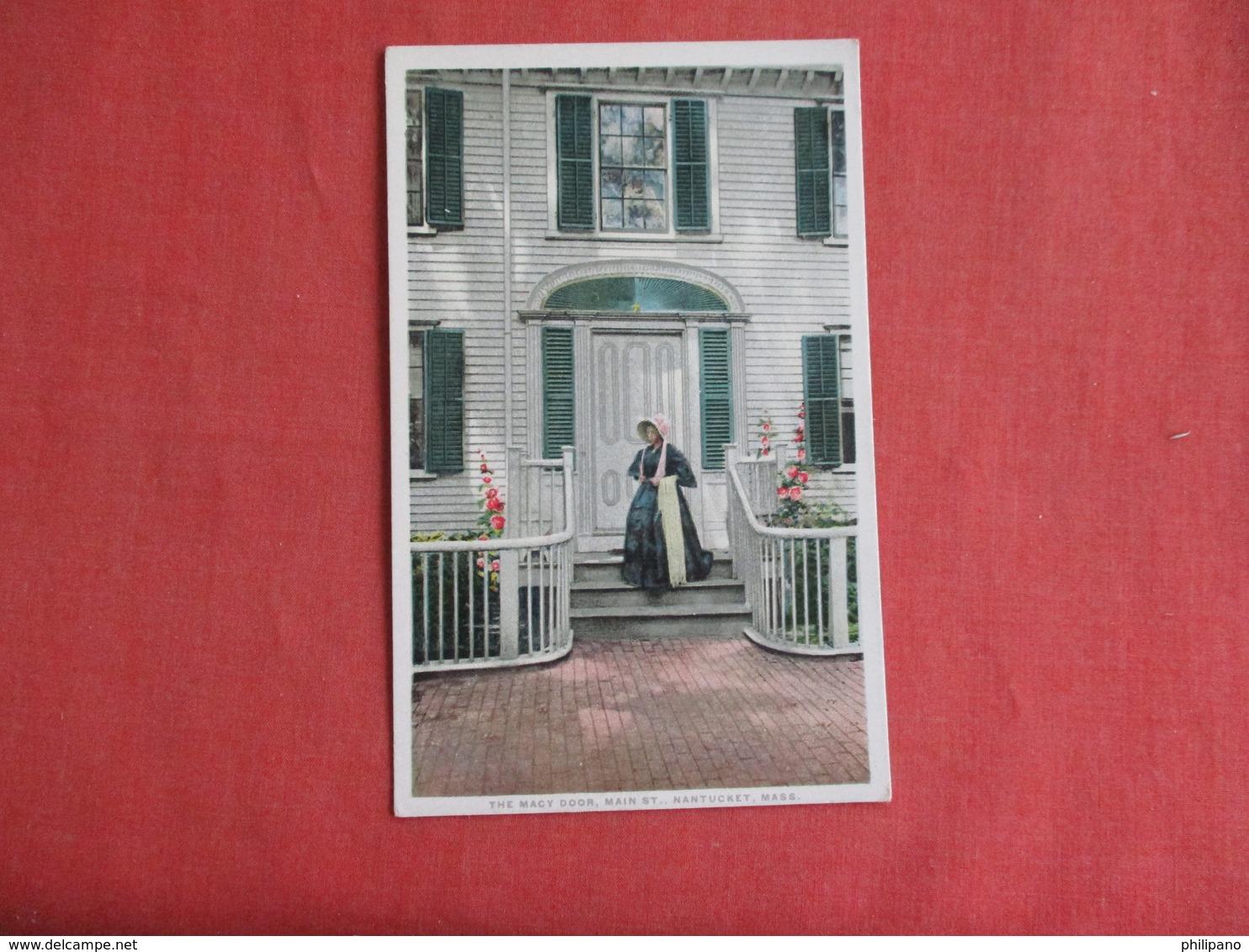 The Macy Door     Massachusetts > Nantucket   Detroit Publisher     Ref 3141 - Nantucket