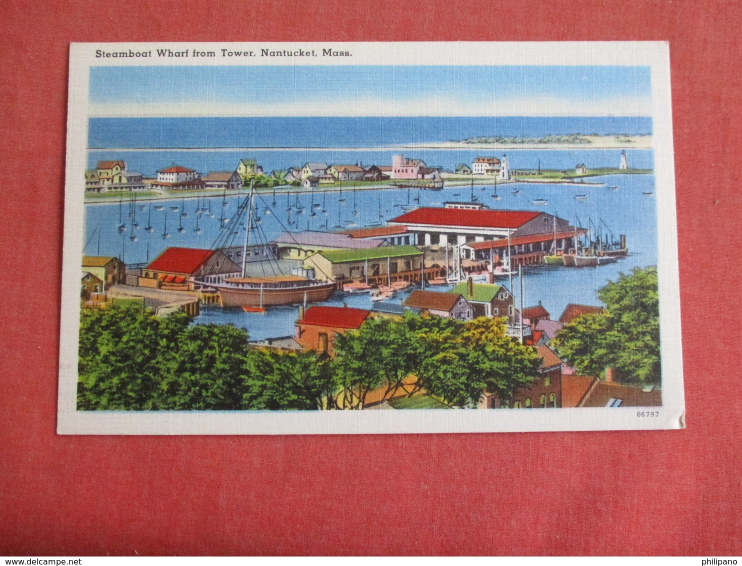 Steamboat Wharf   Massachusetts > Nantucket       Ref 3141 - Nantucket