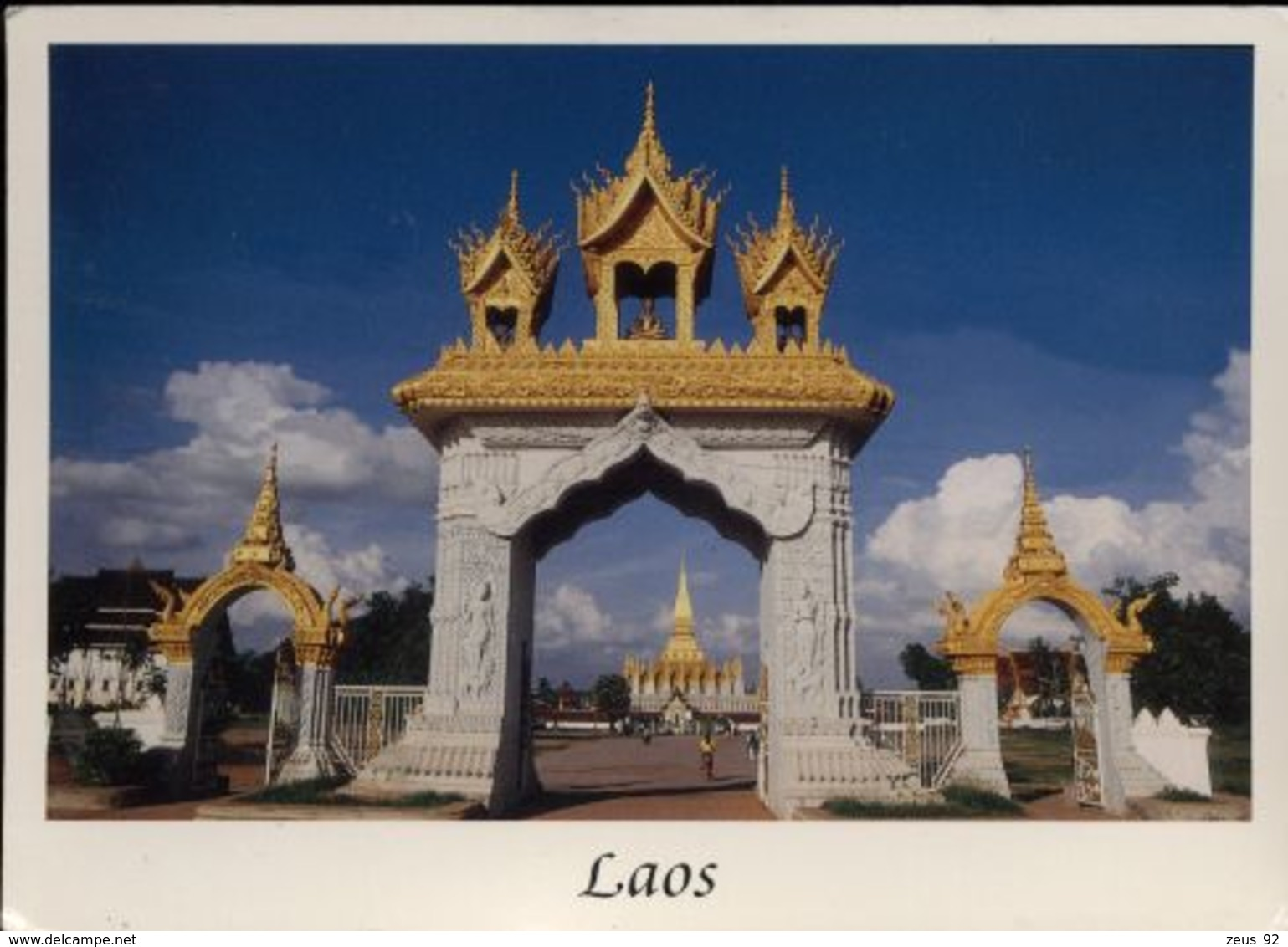 C575 LAOS - VAT THAT LUANG - Laos
