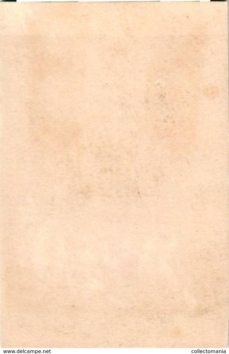 6 Cartes DECORATIONS, C1870 VERY EARLY LITHO, Vinoy Ladmirault Canrobert Pothuau Aurelle De Paladines GRAVIERE - Before 1871