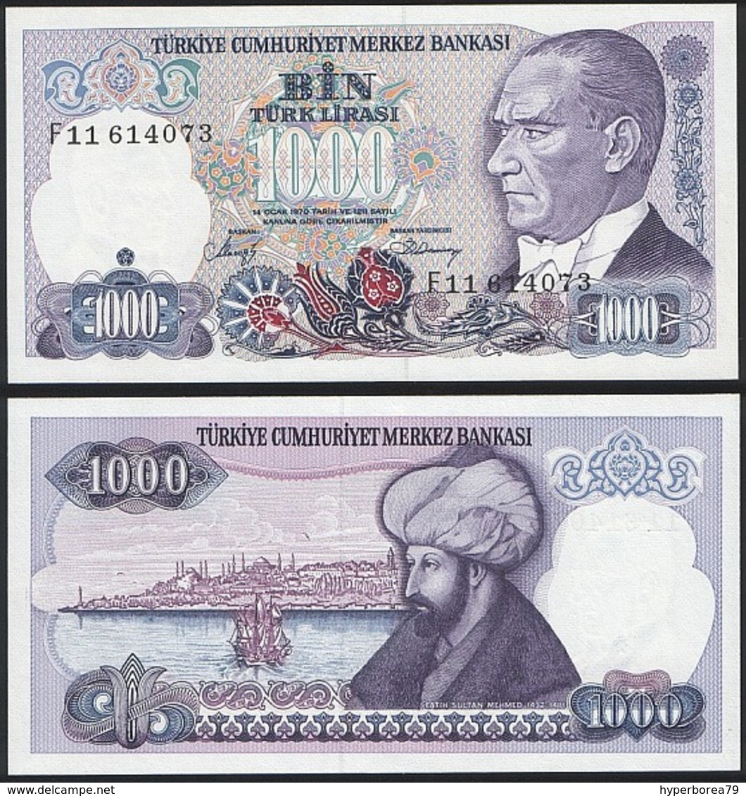 Turkey P 196 - 10000 10.000 Lira 1986 - AUNC - Turquie