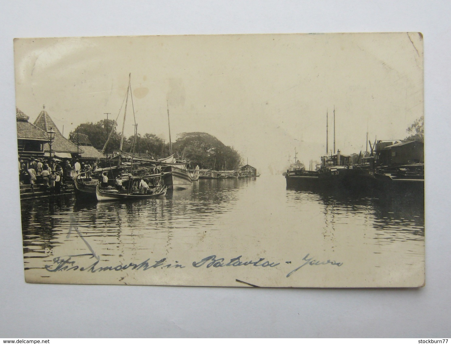Briefkaart   A Duitsland - Nederlands-Indië