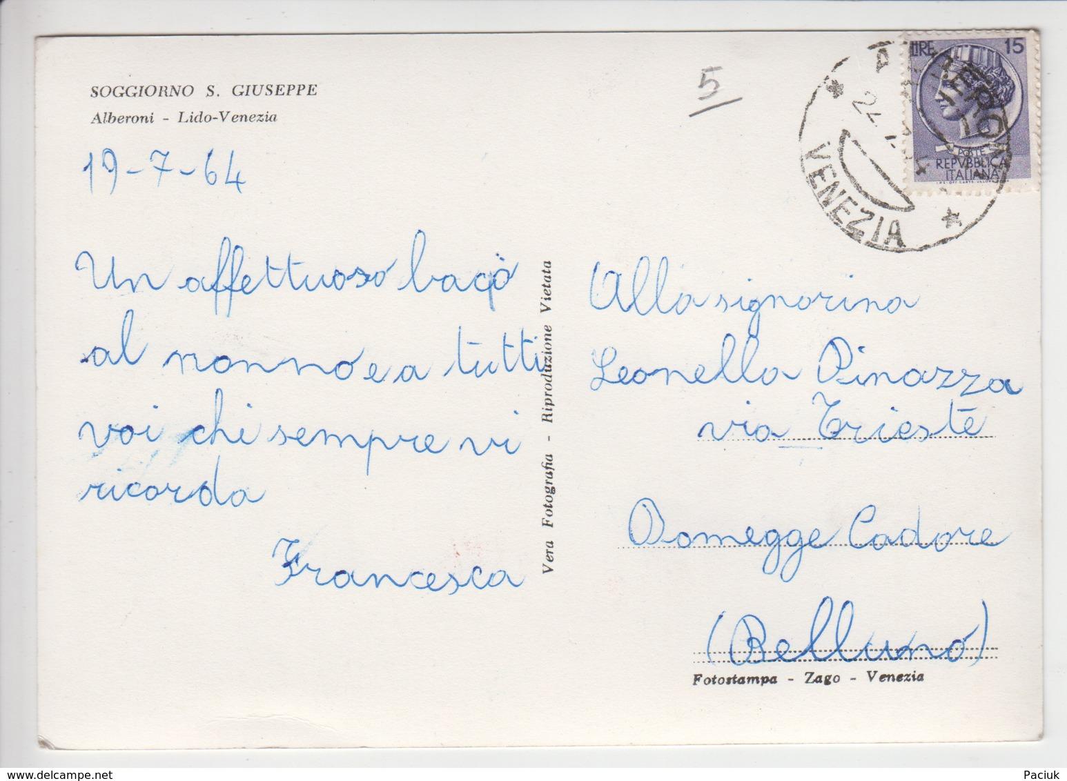 Alberoni Lido Venezia Soggiorno S. Giuseppe - Venezia
