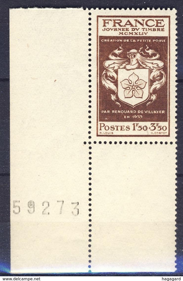 +France 1944. Journée Du Timbre.Yvert 668. MNH(**) - France