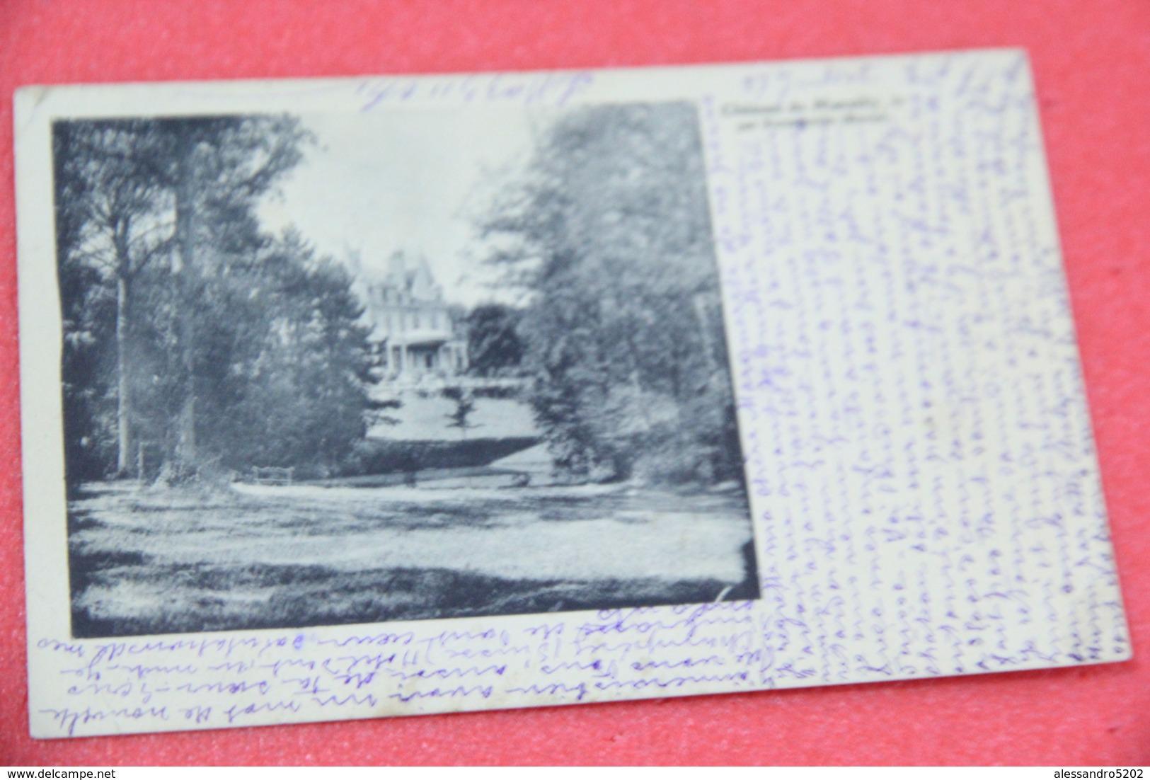 51 Chateau De Marzilly Le Par Hermonville 1911 - France