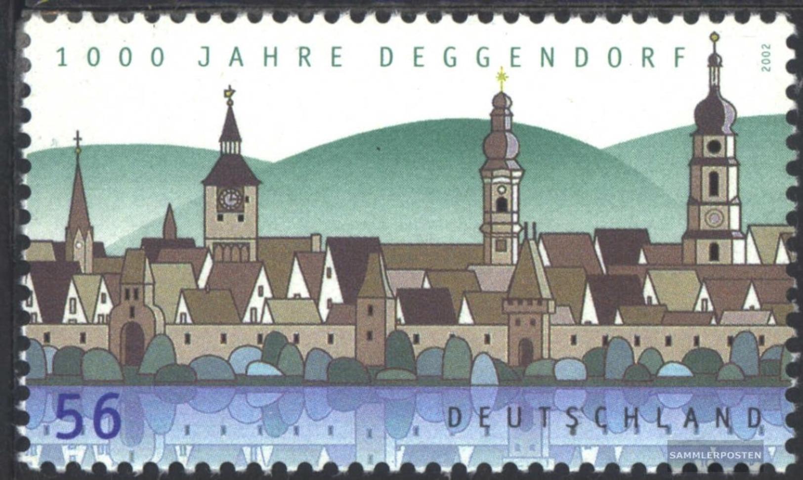 BRD (BR.Deutschland) 2244 (completa Edizione) MNH 2002 1000 Anni Deggendorf - Nuevos